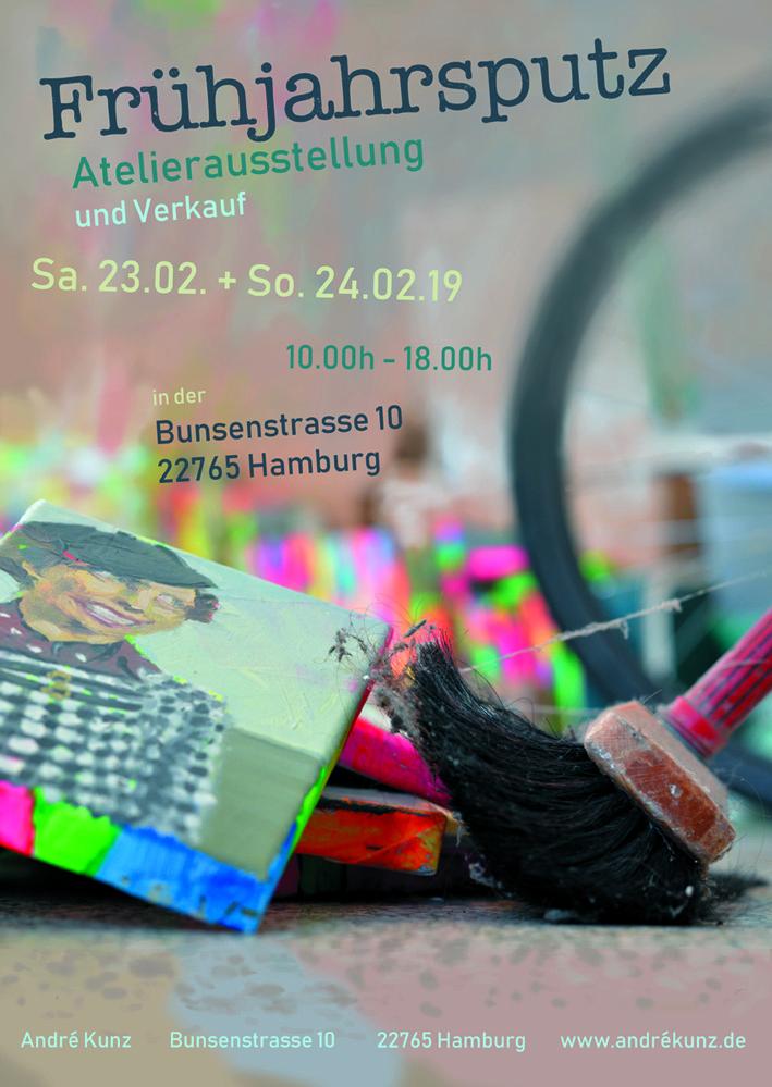 Frühjahrsputz - Atelierausstellung  und Verkauf